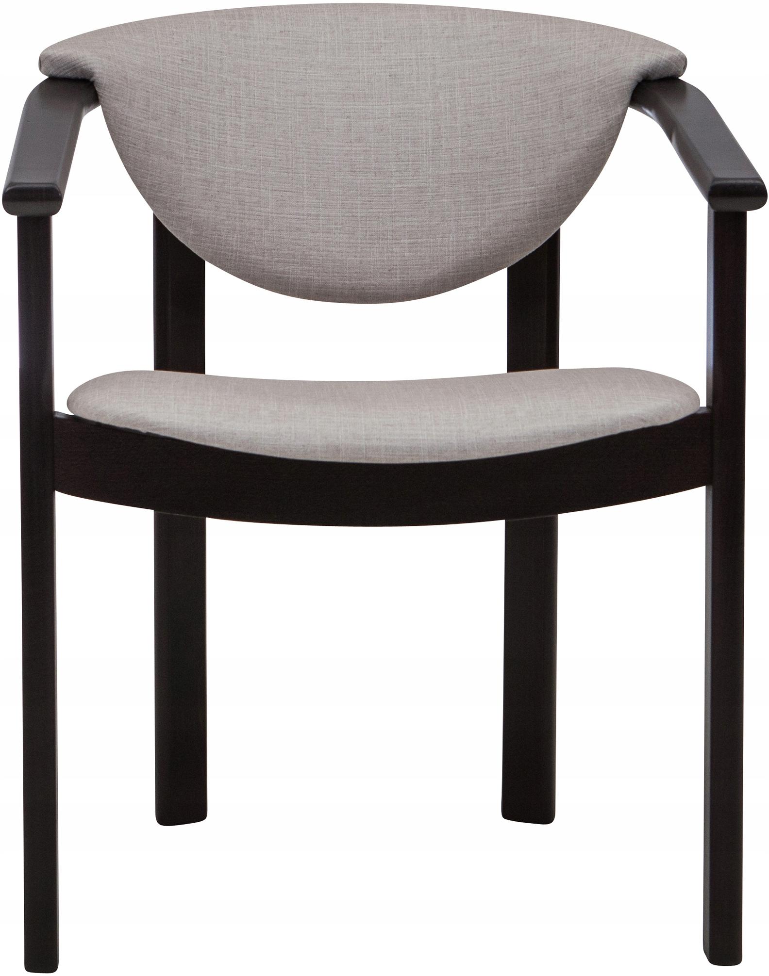 Podkrovná retro drevená stolička s lakťovou opierkou
