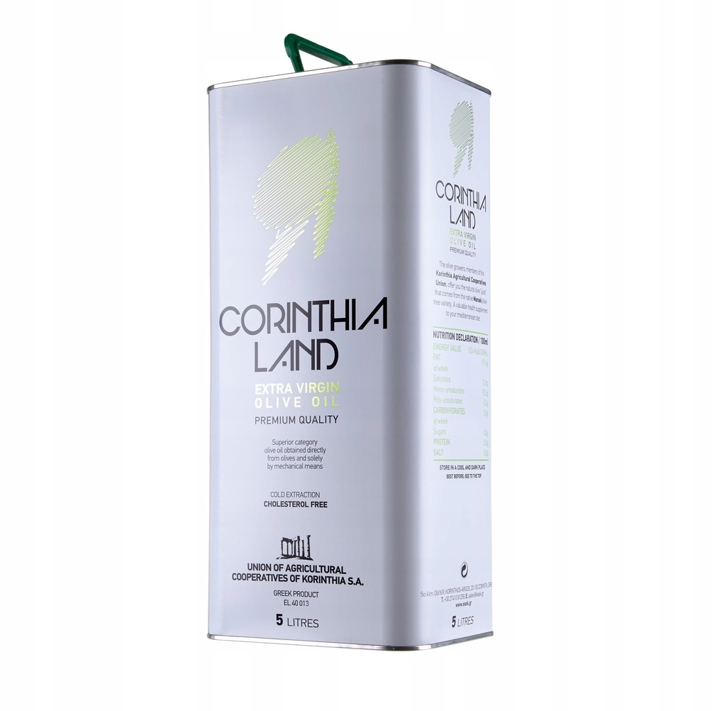 Сорт оливкового масла Manaki Corinthia Land 5л