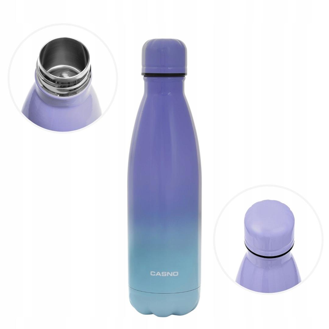 Butelka termiczna termos metalowy CASNO 500 ml