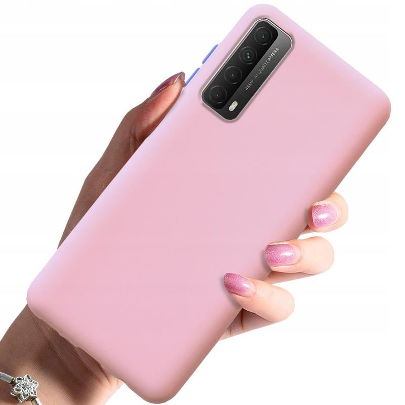 Etui do Huawei P Smart 2021 Case Silikon + Szkło Dedykowany model Huawei P Smart 2021