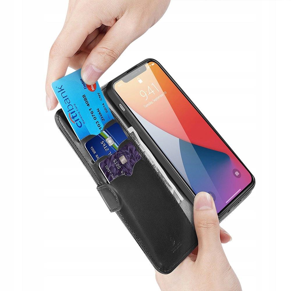 Etui Dux Ducis Kado do iPhone 12 Pro Max czarny Waga produktu z opakowaniem jednostkowym 0.2 kg