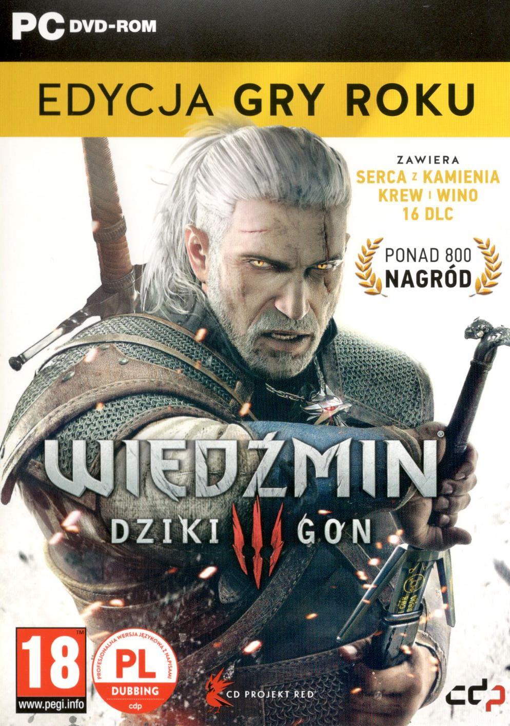 Wiedźmin 3 Dziki Gon Edycja Roku GOTY PL BOX