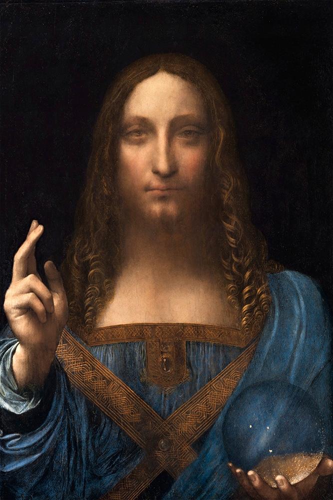 Картина Salvator Mundi - Леонардо да Винчи - 60x40