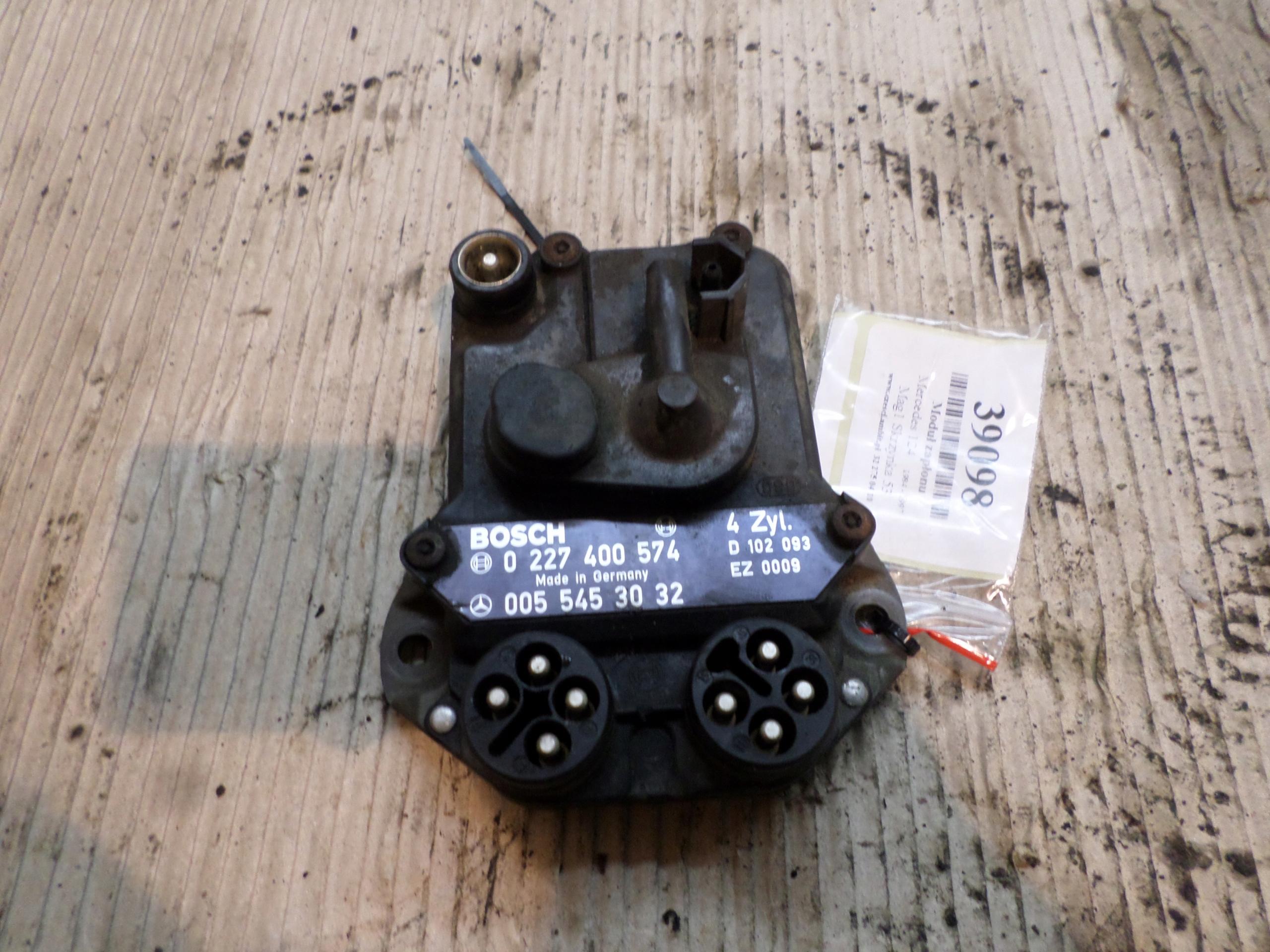 mercedes 124 84-97 2,3 модуль зажигания 0227400574
