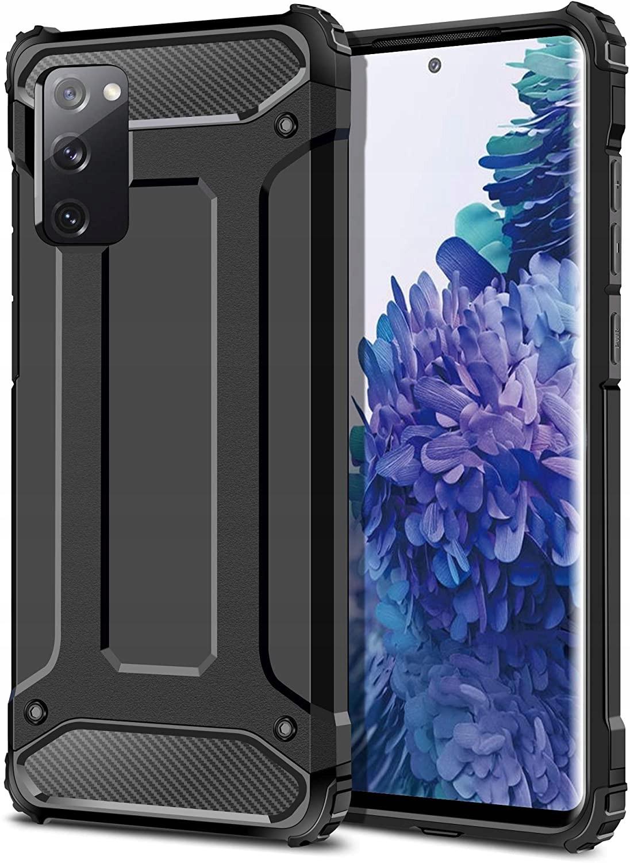 ETUI do Samsung Galaxy S20 FE PANCERNE CASE +SZKŁO Dedykowany model Samsung Galaxy S20 FE