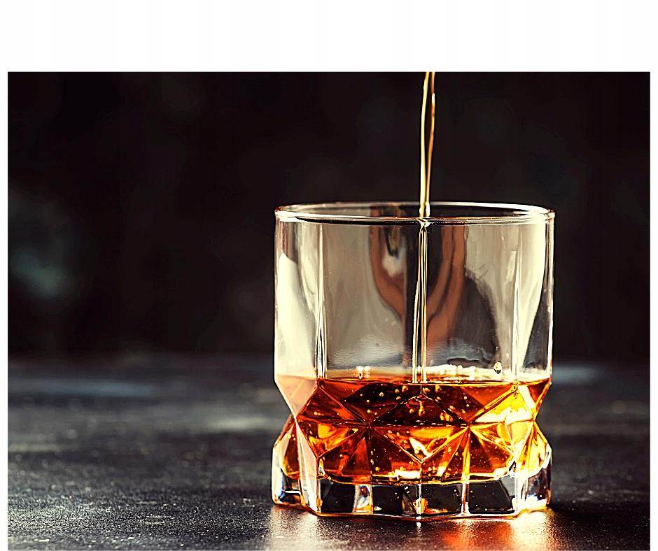 ZESTAW SZKLANEK DO DRINKÓW WHISKY 6 SZT NAPOJÓW Pojemność 325 ml