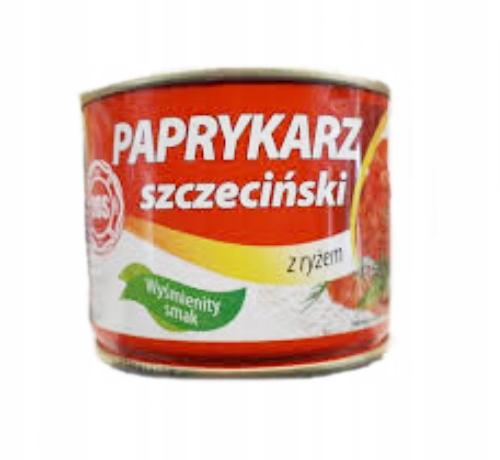 Купить Щецинский паприкарц DOS 330г, рыбные консервы на Otpravka - цены и фото - доставка из Польши и стран Европы в Украину.