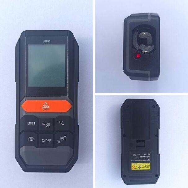 DALMIERZ LASEROWY MIERNIK ODLEGŁOŚCI CYFROWY LCD Dokładność pomiaru (+/- mm) 3
