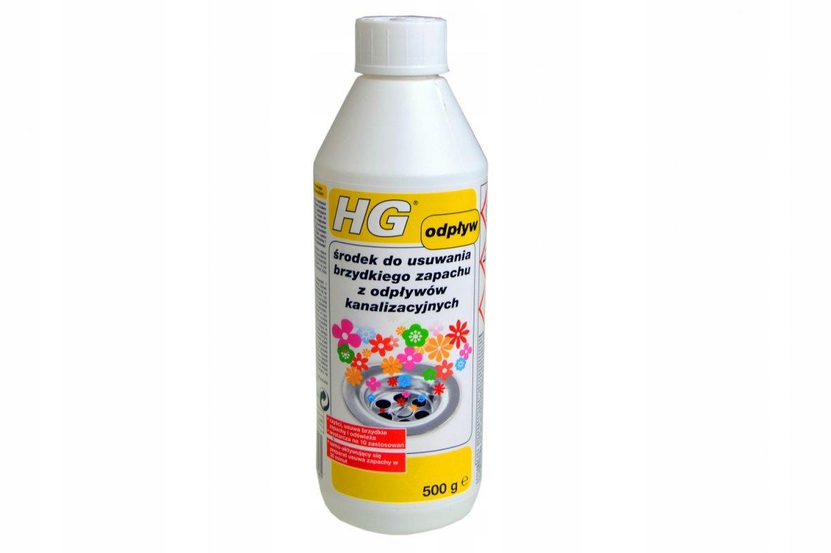 HG средство для удаления отвратительного запаха из труб