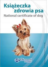 Książeczka zdrowia psa Yorkshire Terrier