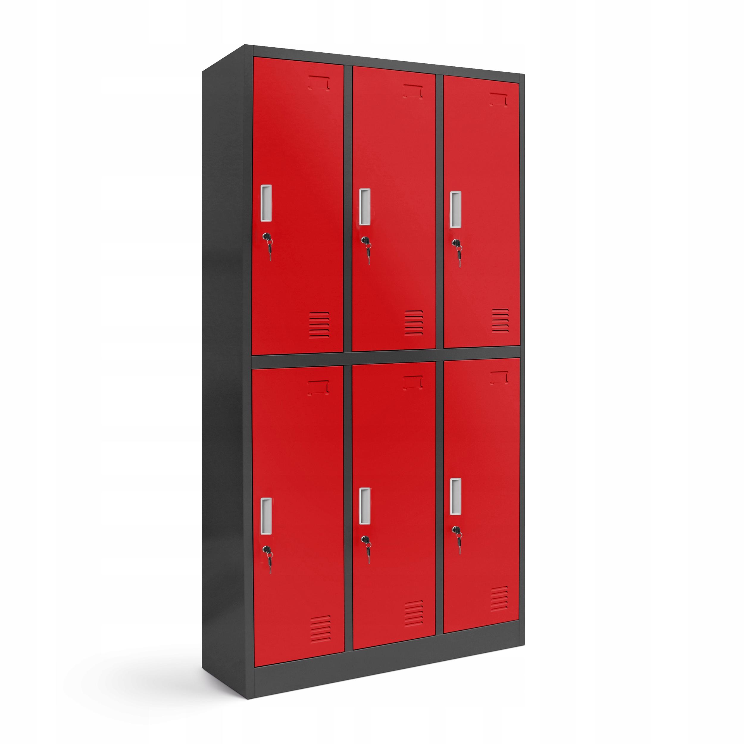 Металлический шкафчик для одежды для здоровья и безопасности