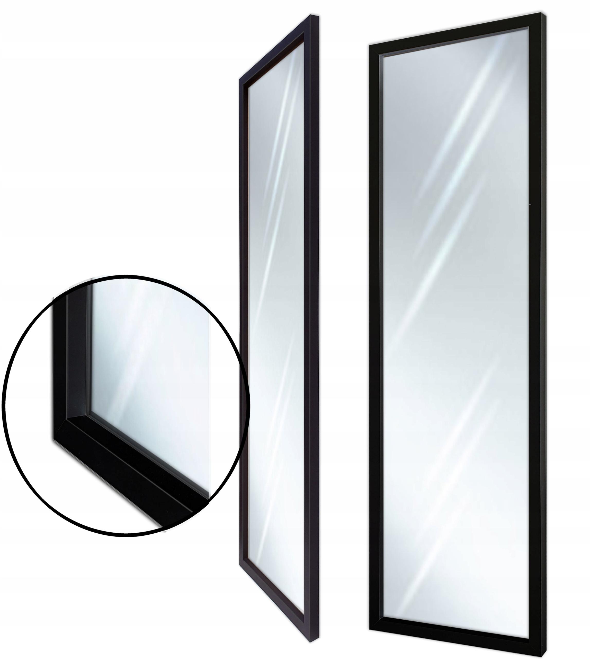 Зеркало в раме 160x60 165x65 modern black 3D
