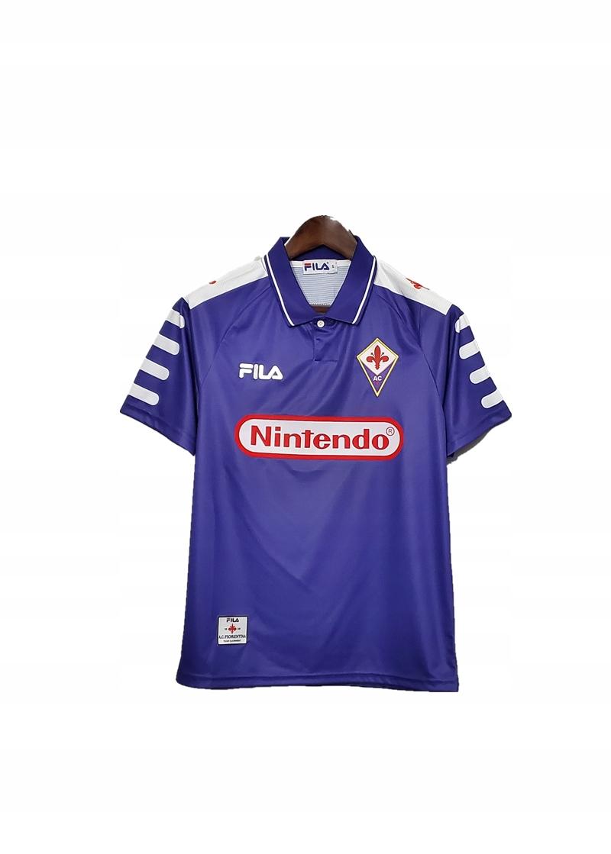 1998-1999 domáce tričko Retro FILA Florencia