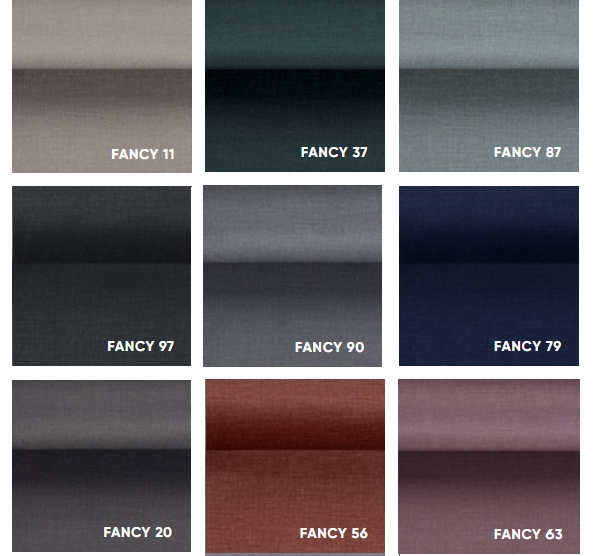 Großes Sofa SARA Klappsofa - Farben Material Möbelstoff