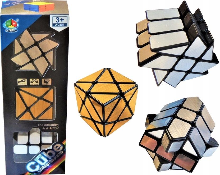 Rubikova kocka sada 3x nepravidelné zrkadlové kocky