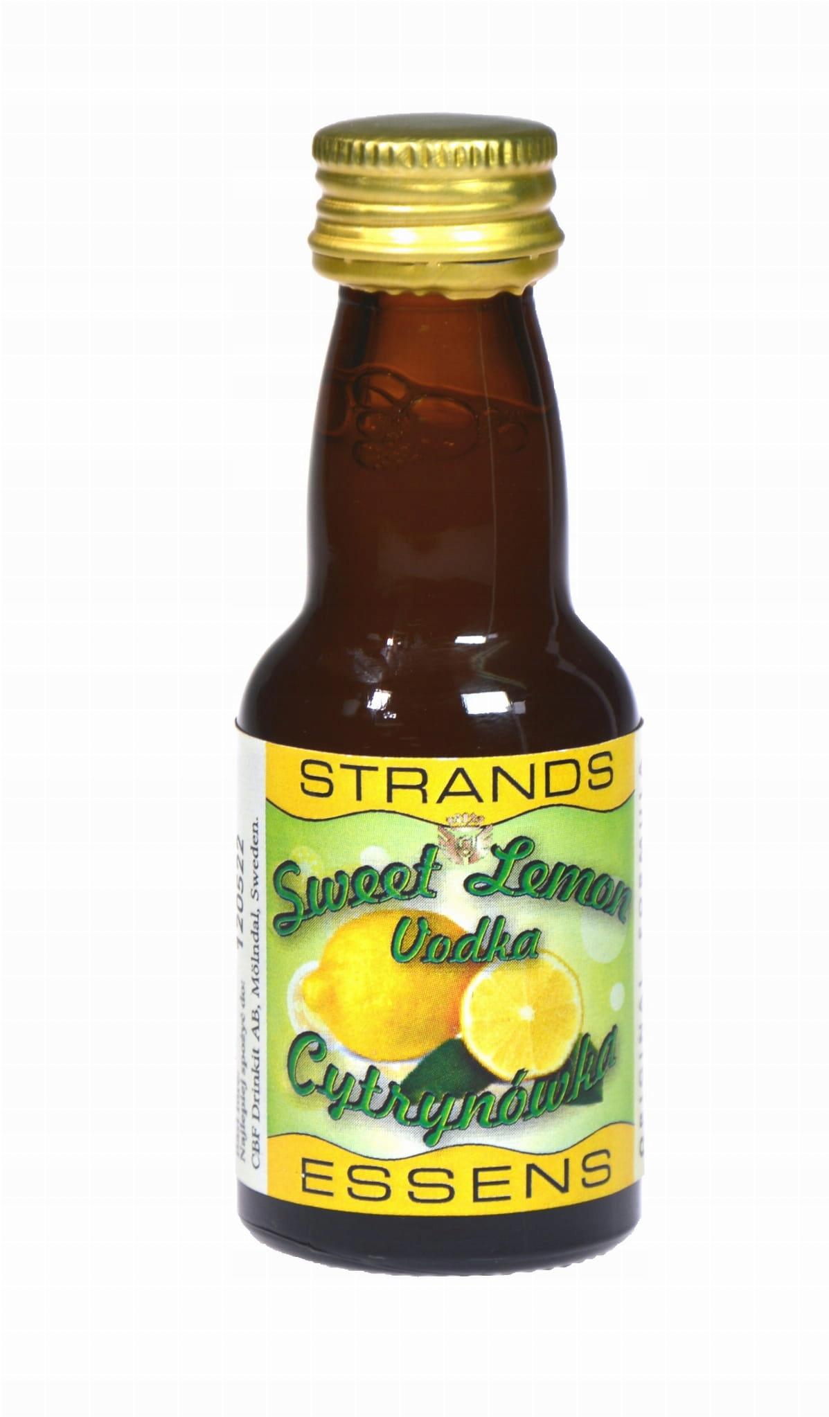 Zaprawka do alkoholu STRANDS SWEET LEMON 25ml