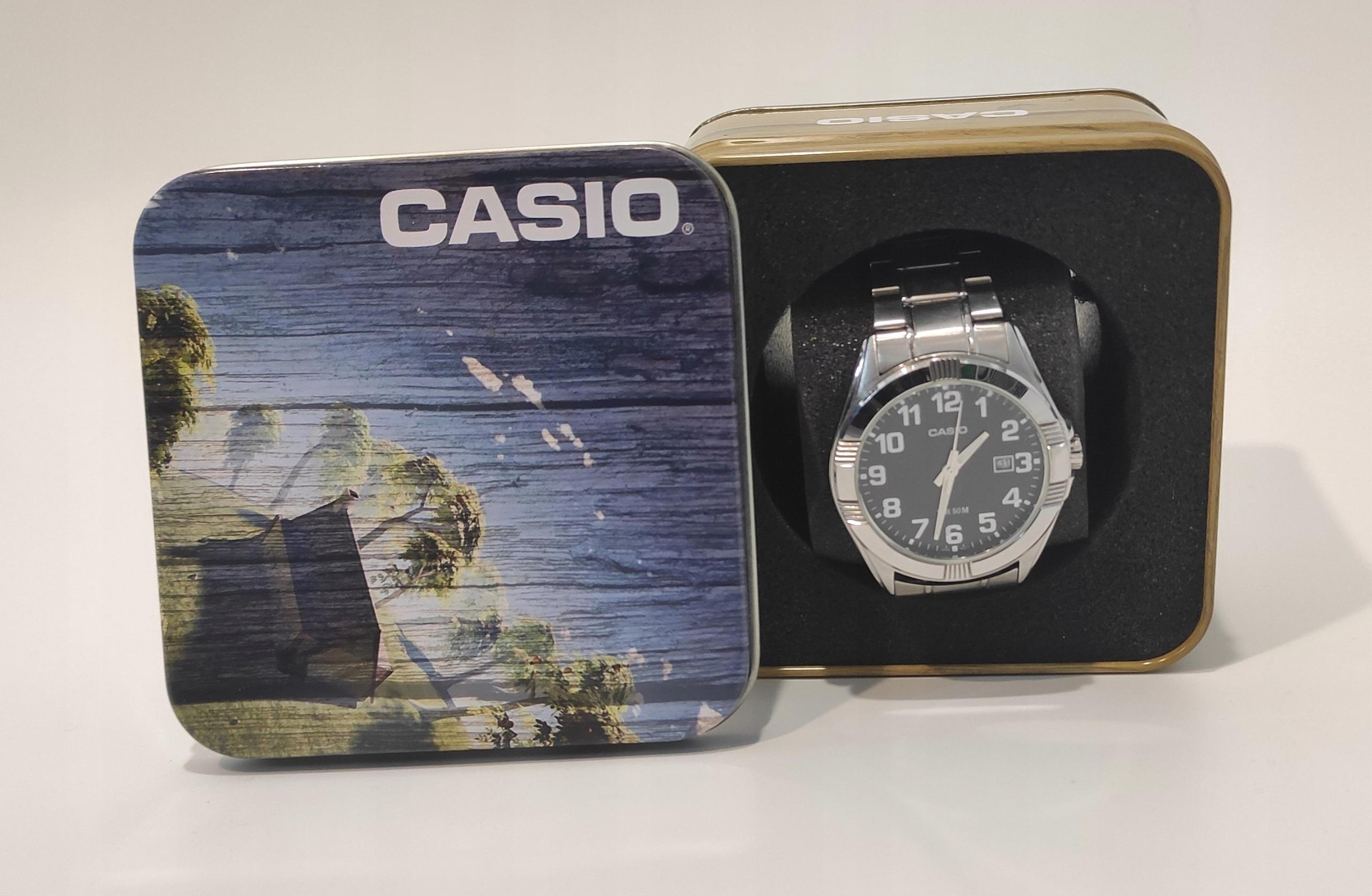 Zegarek męski Casio Japan Movt 2784 Mechanizm kwarcowy