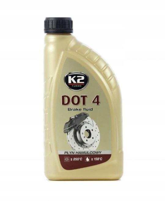 K2 DOT-4 DOT 4 ТОРМОЗНАЯ ЖИДКОСТЬ 1000ML 1L