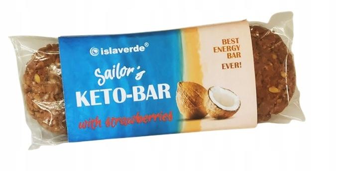 Sailor's Keto Bar Кетогенный энергетический батончик