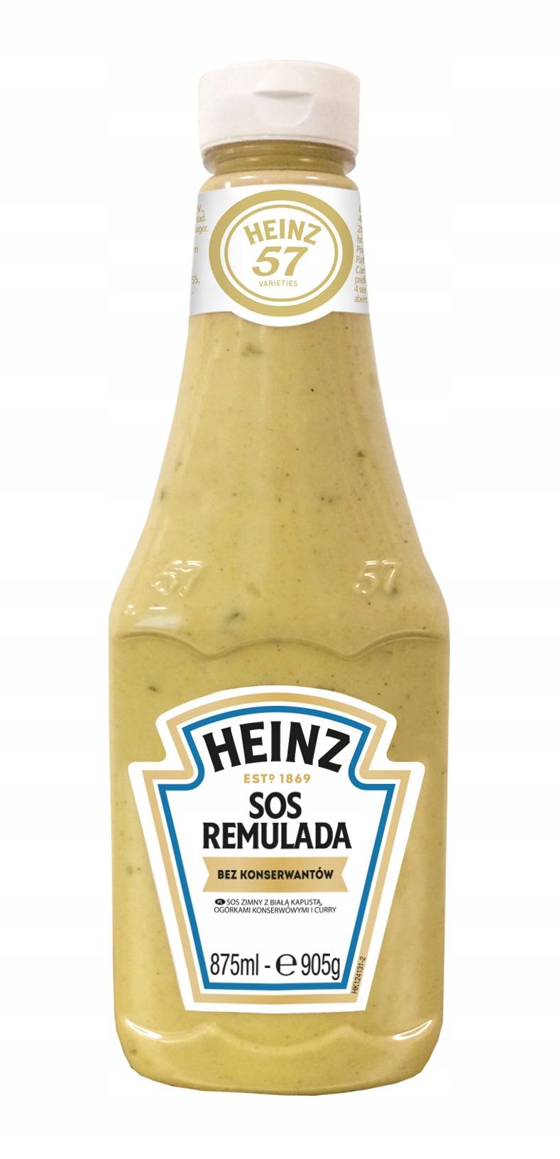 Соус Heinz Remulada с капустой и огурцами карри 875мл