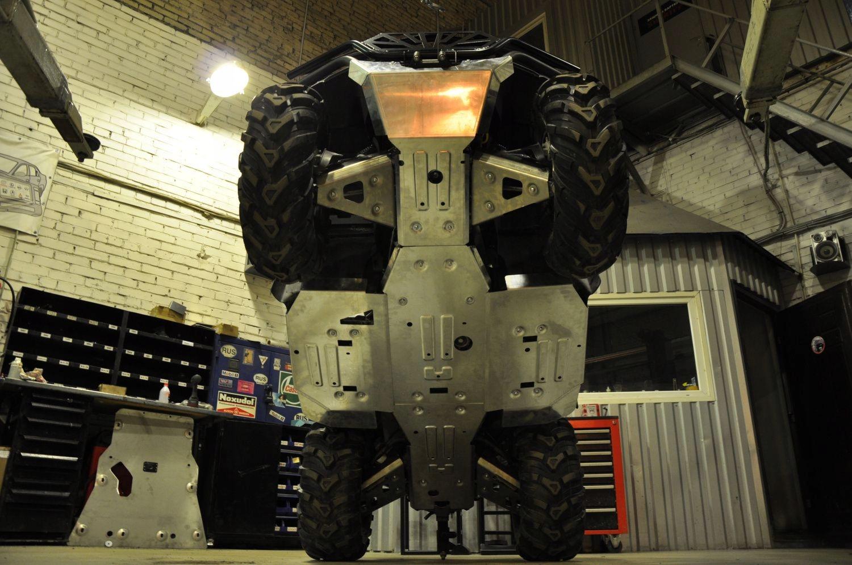 Алюминиевые алюминиевые щиты Полный CF Moto 625 Muddy