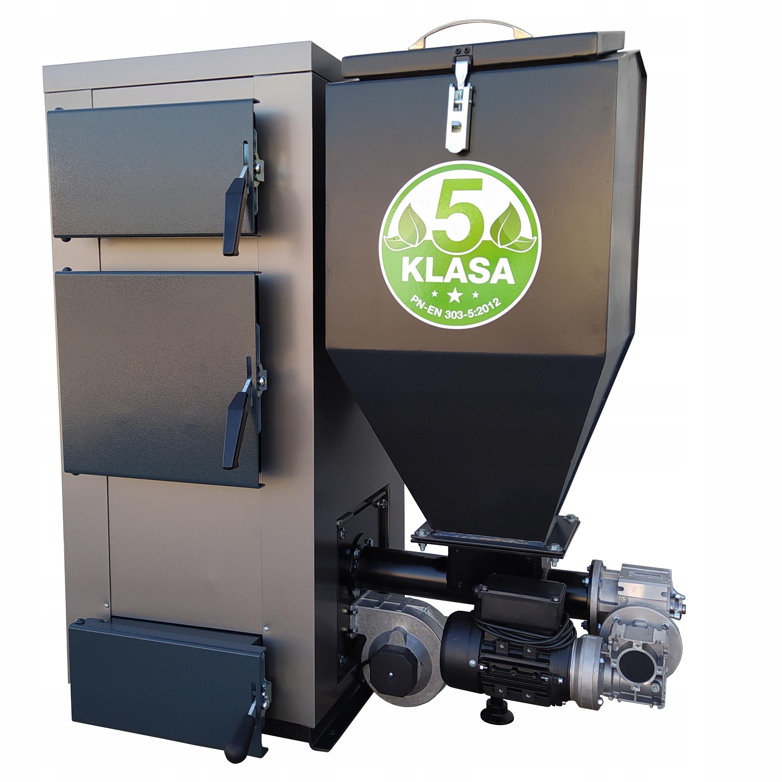 Ekodizajnový kotol 5. triedy na 10 kW ekologické hrachové uhlie