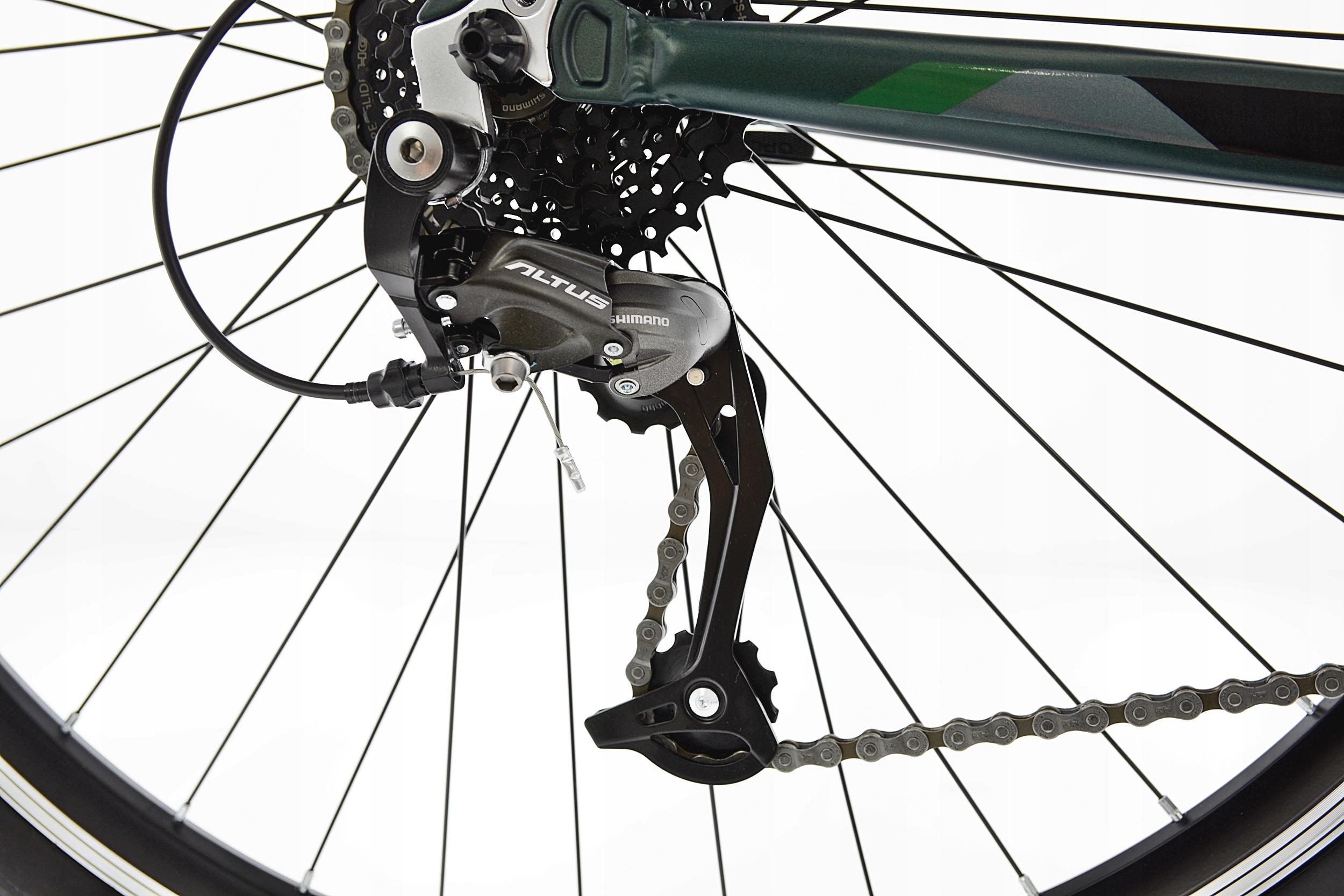 KANDS THE ONE rower mtb 29 VB altus 19 zieleń 2021 Model THE ONE ALTUS