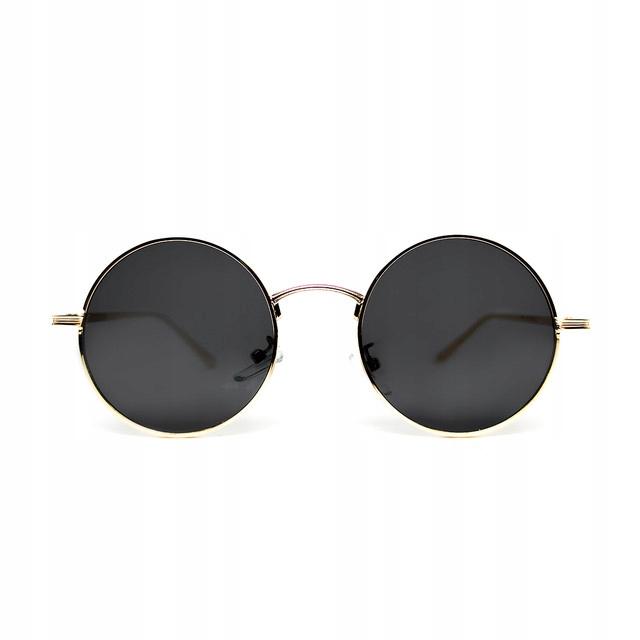 Klasické slnečné okuliare Lenonki, okrúhly retro rám