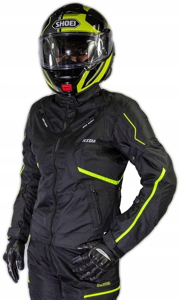 Кожанная куртка мотоциклетная женская lady sportowa, фото 0