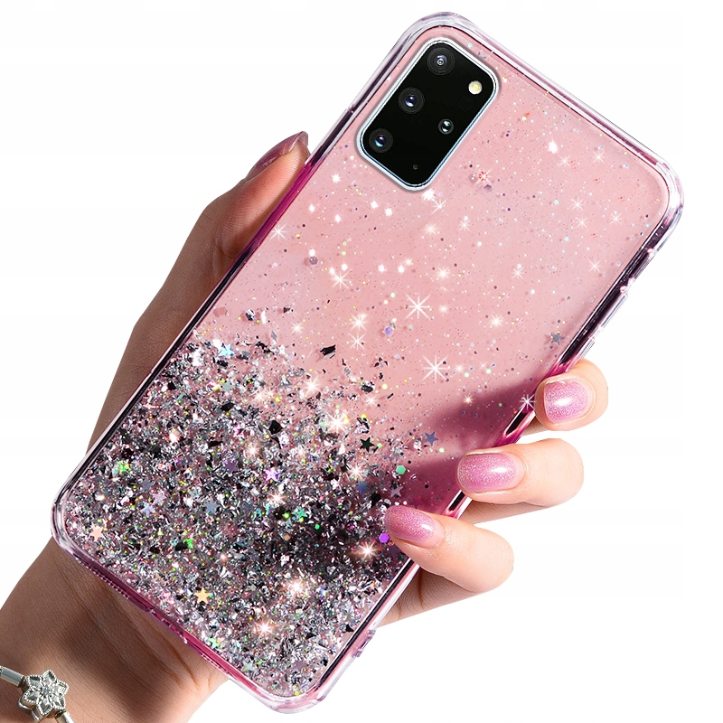 Etui do Samsung Galaxy S20 Plus CASE BROKAT +SZKŁO