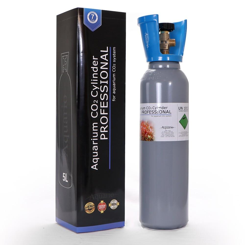 VALEC CO2 AQUARIO MODRÁ 5L 57CM - NOVÉ S VENTILOM