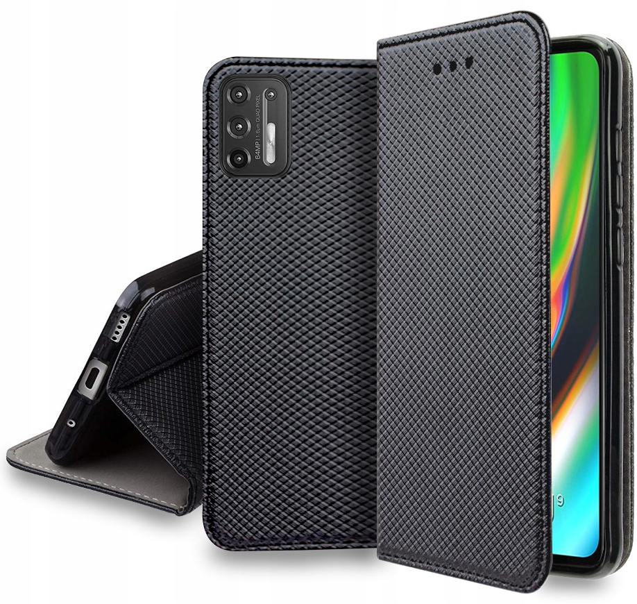 Etui do Motorola Moto G9 Plus Case Magnet + Szkło