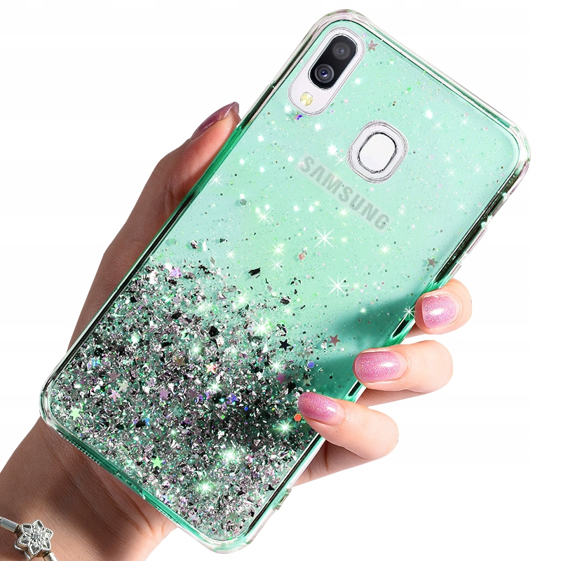 Etui do Samsung Galaxy A40 CASE BROKAT + SZKŁO 9H
