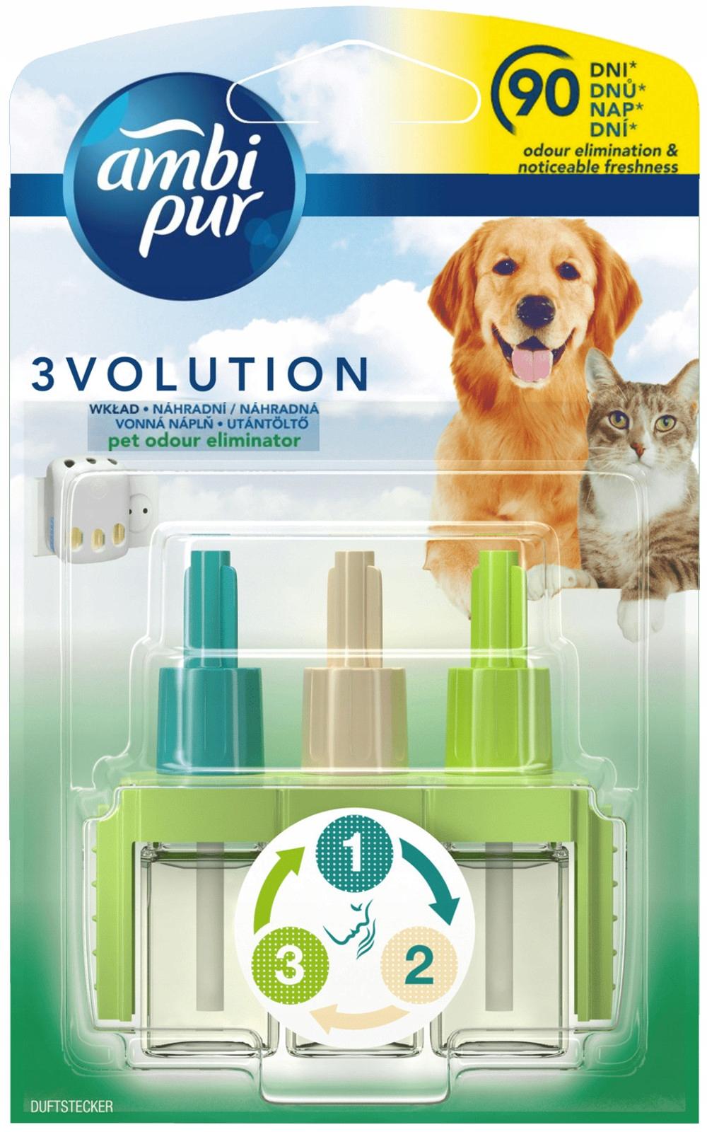 Торговый центр Ambi Pur 3Volution Animals Pet Свежий Вклад ДЕ