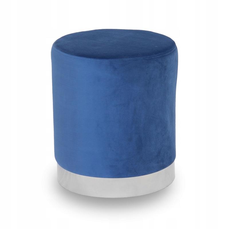Пуф гламур WELUR Upholstered UC3014 синий