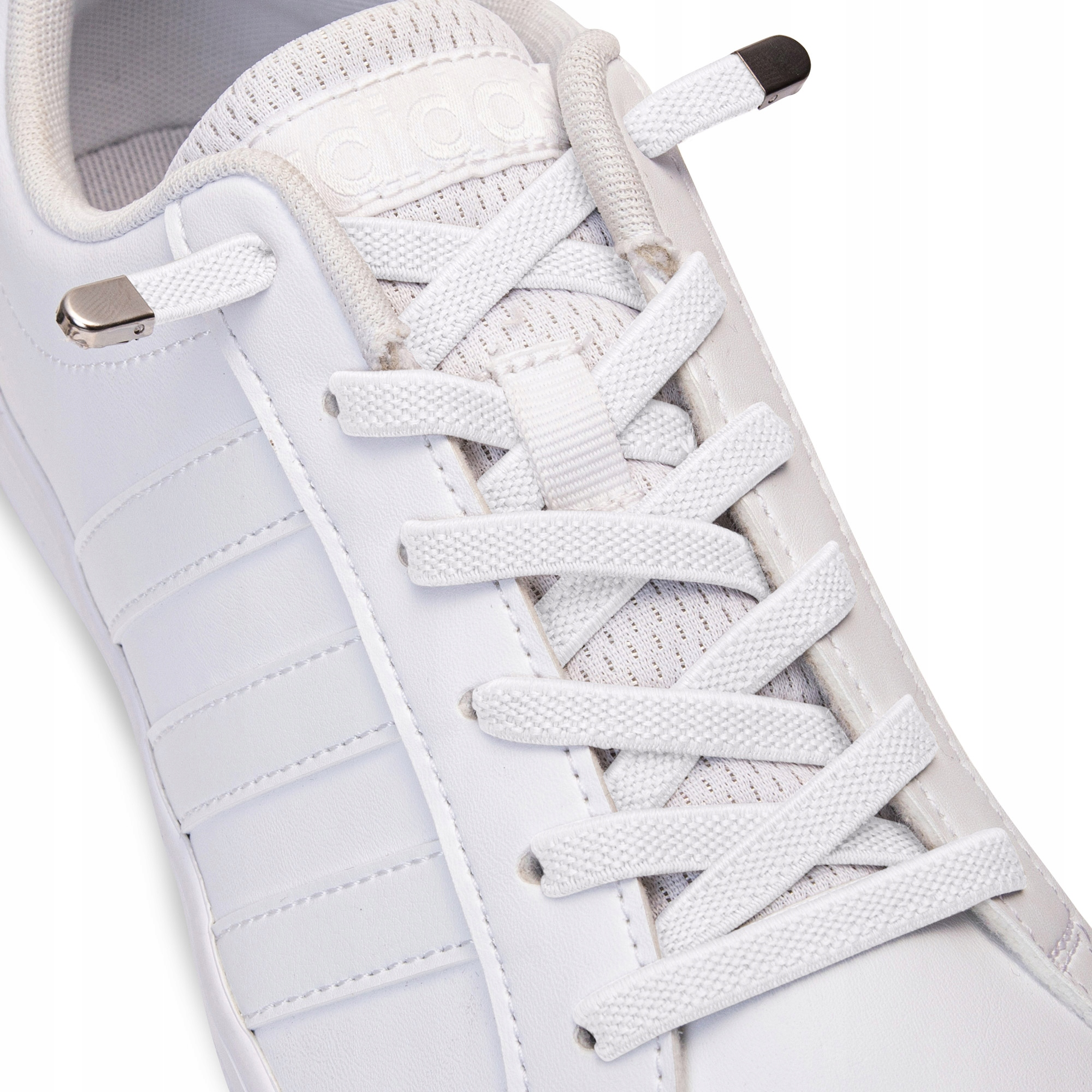 Шнурки без завязывания SULPO white