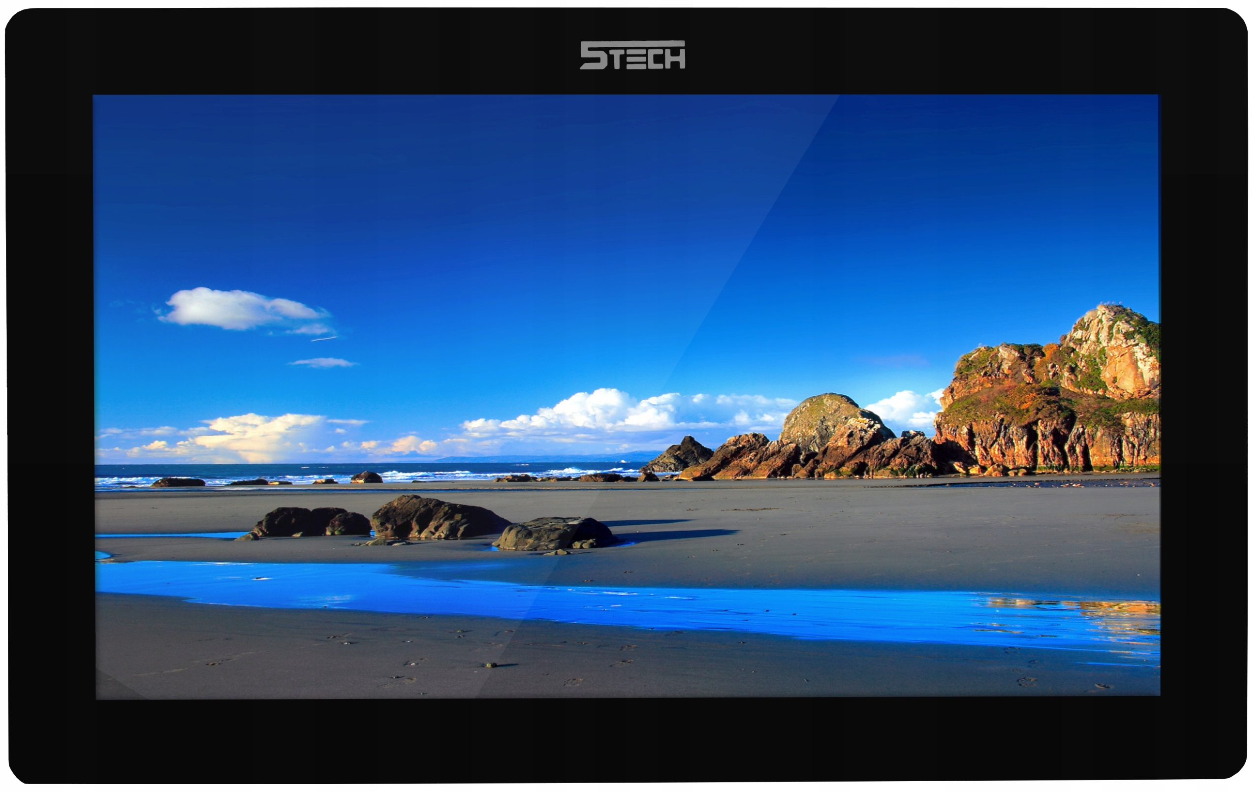 Wideodomofon Videodomofon WiFi FHD 5TECH TELEFON Kolor Czarny