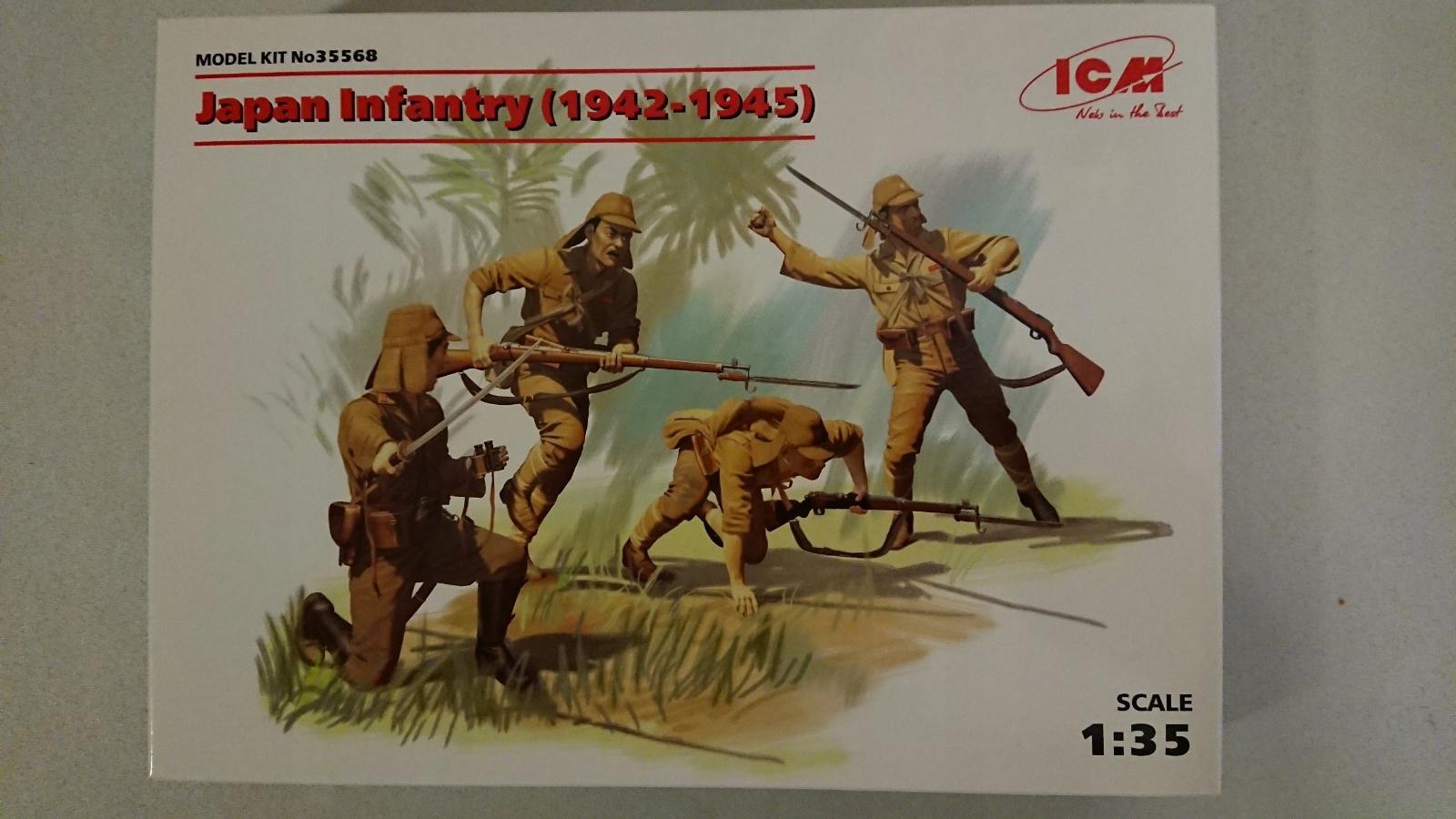 Japan Infantry ( 1942-1945) ICM 35568