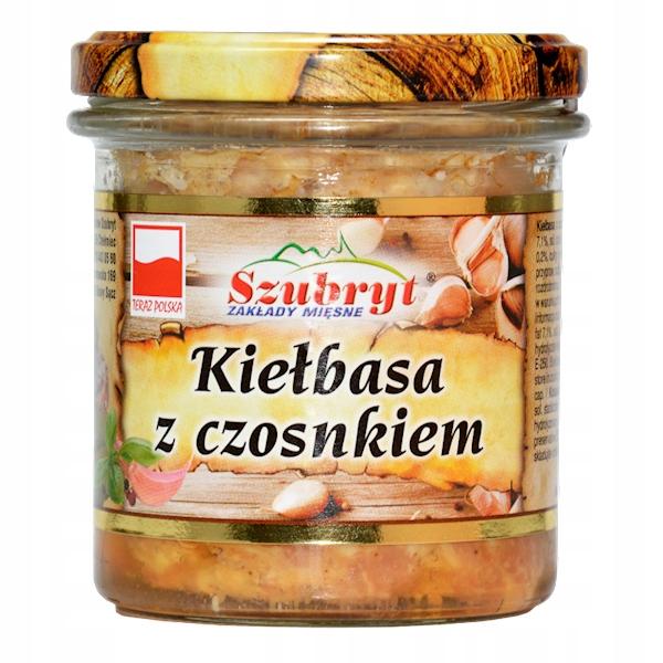 Колбаса с чесноком 300 г в банке Польша прямо сейчас!