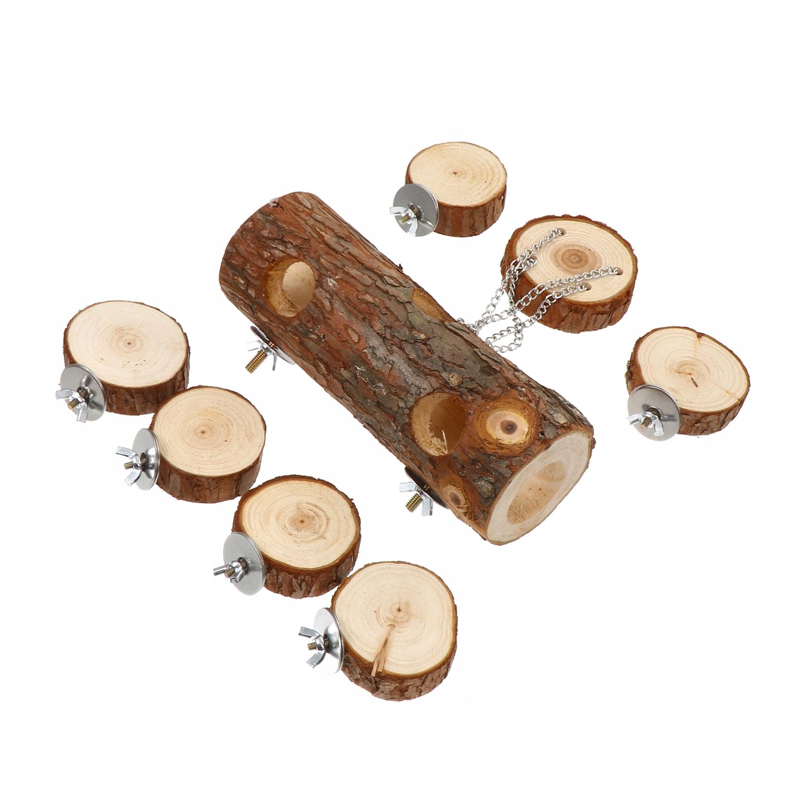 1 комплект деревянных туннельных клеток для хомяков