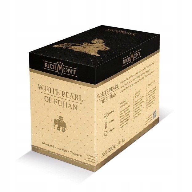 Biely čaj Richmont Biela Perla Fujian 50x4g