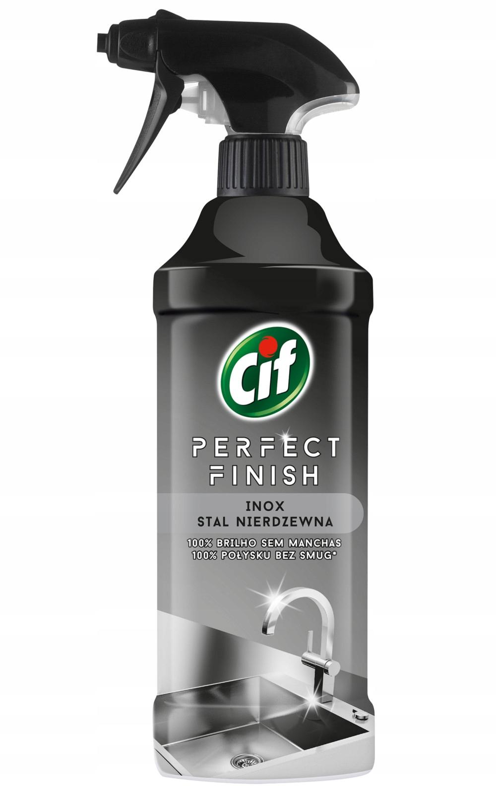 Cif Perfect для Нержавеющей Стали Спрей 435ml