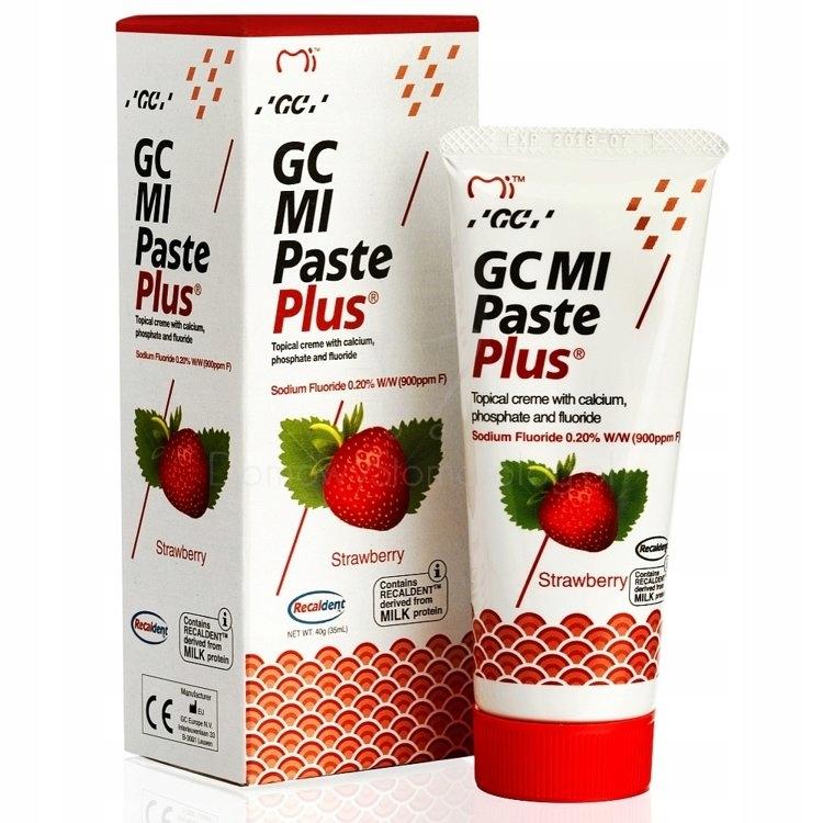 GC MI PASTE PLUS паста жидкая эмаль с фторидом