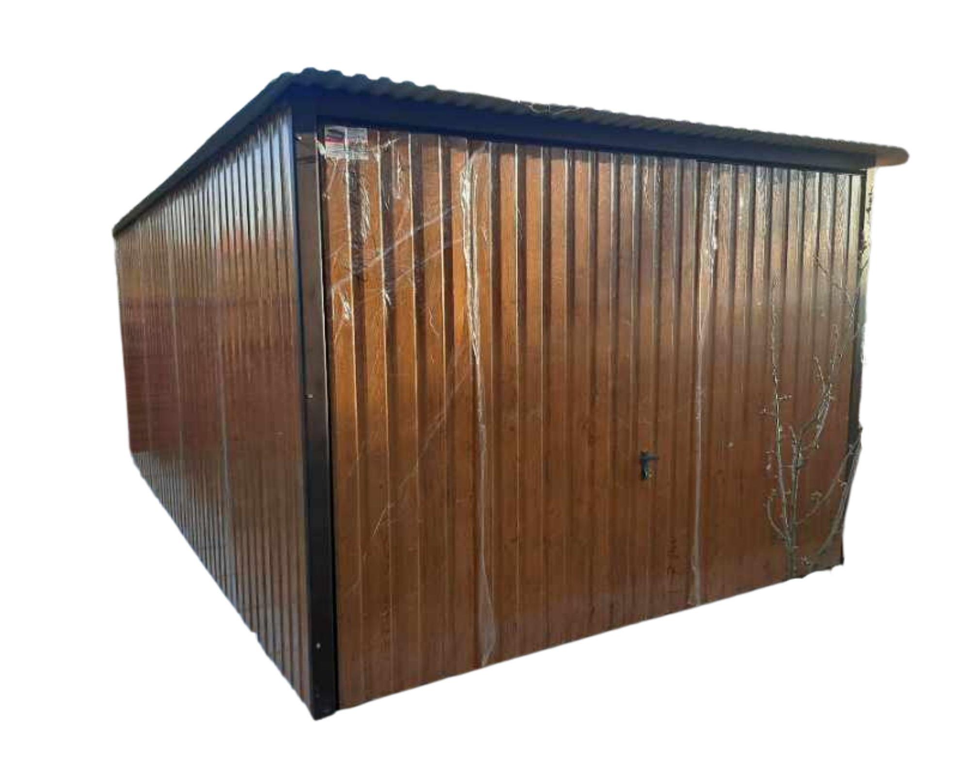 жестяные гаражи 3x5 металлическая пластина золотой дуб орех орех ворота
