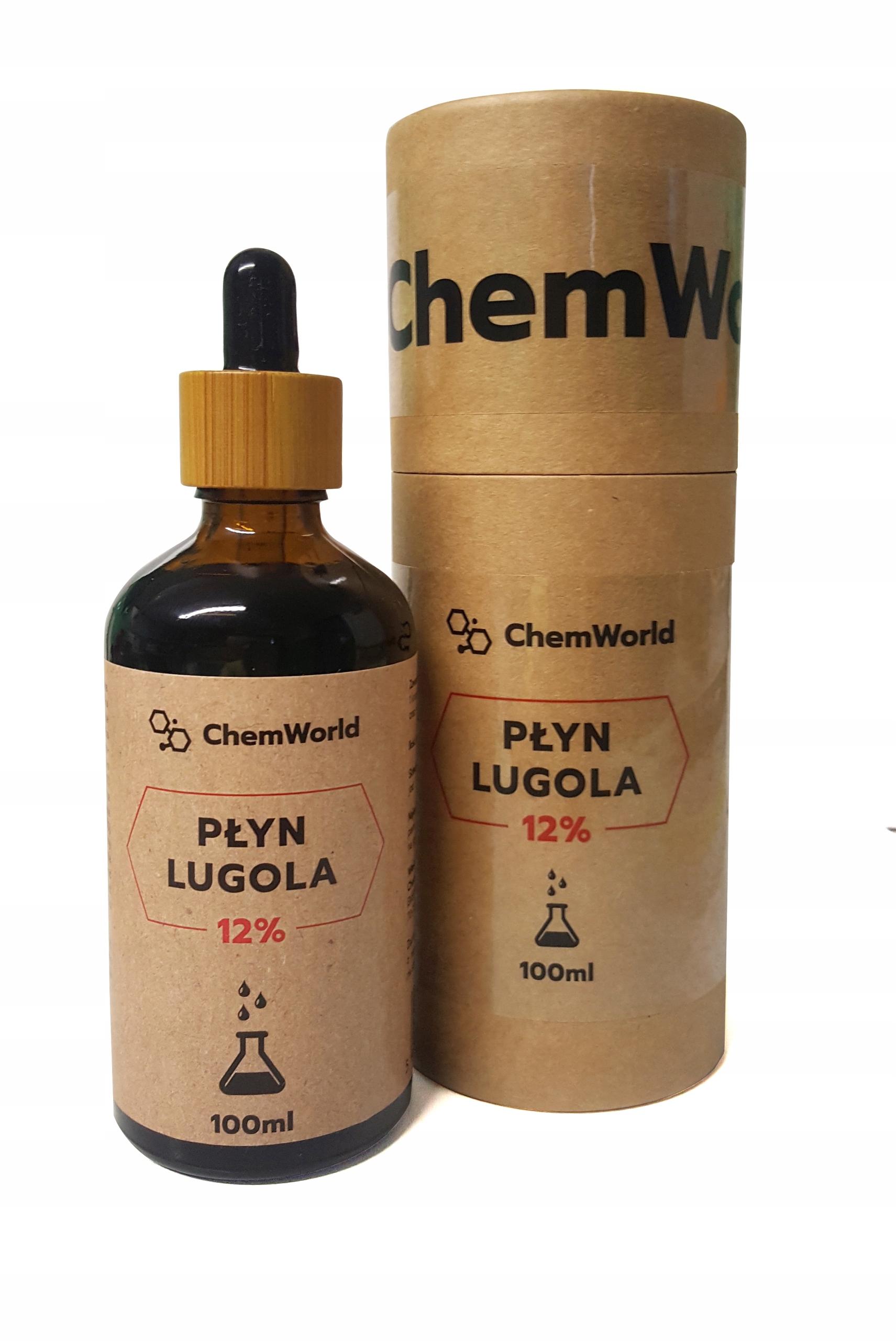 Лугол жидкости 12% 100 мл - Чистый IODINE КЗДА ChemWorld