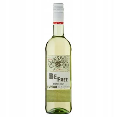 Вино белое полусладкое безалкогольное 0,75