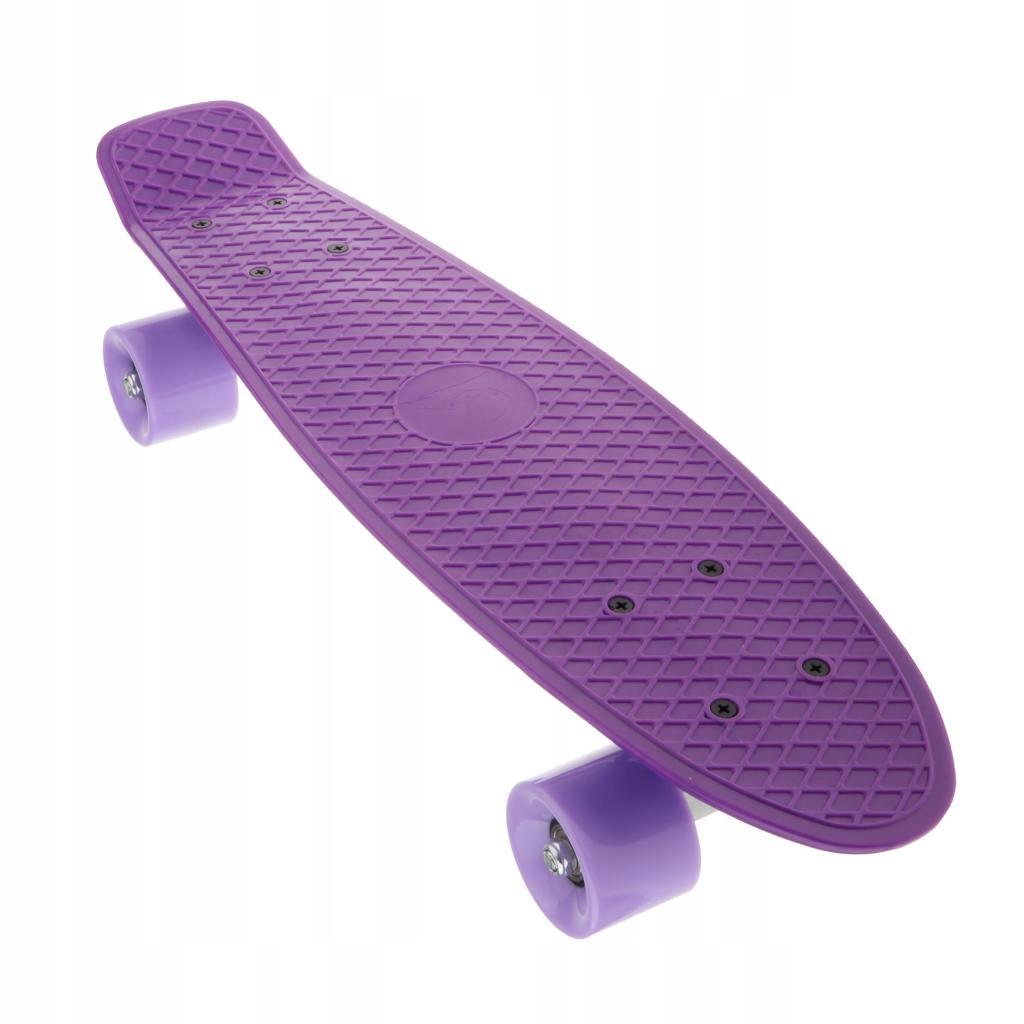 "22 ""cruiser skateboard - fialový"