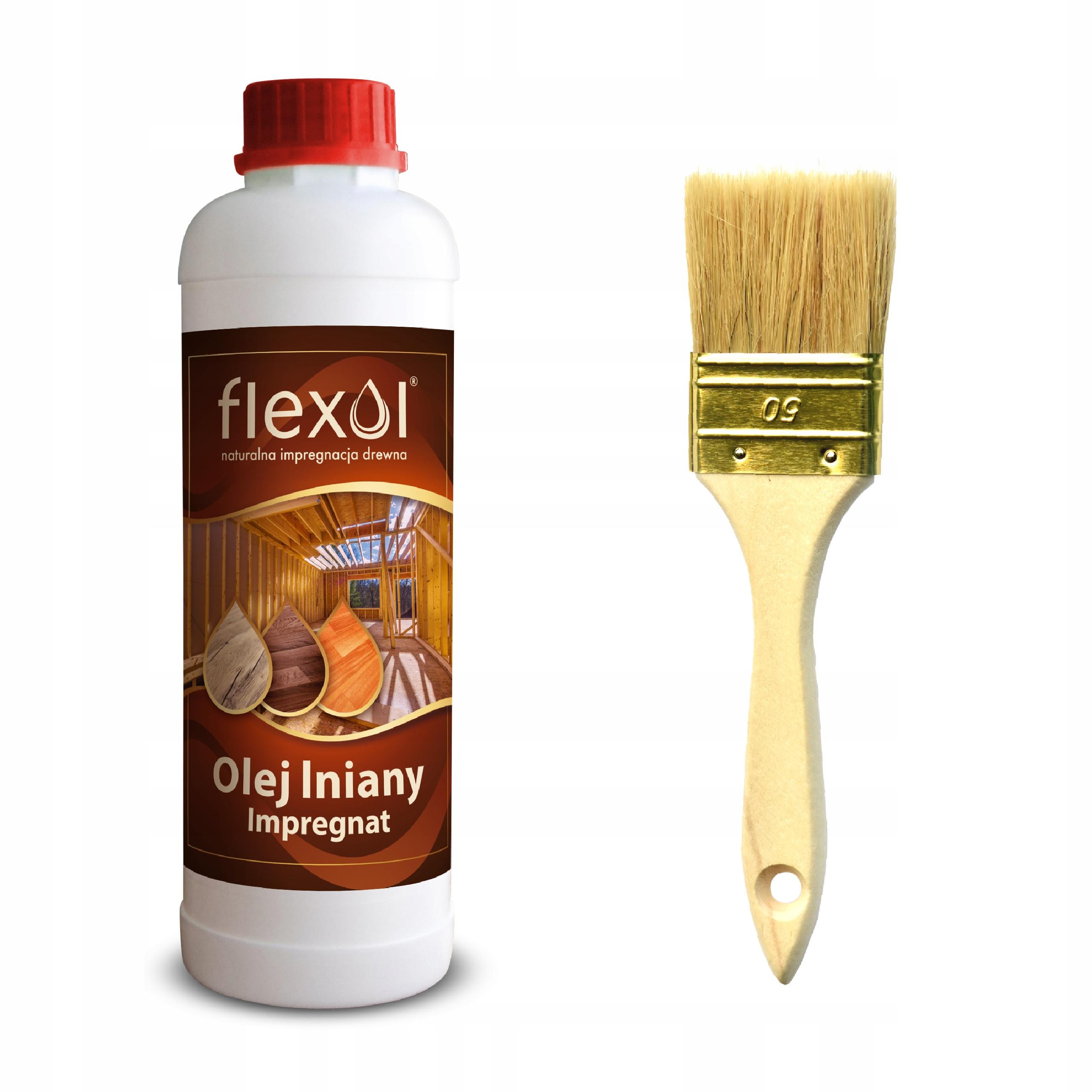 Пропитка льняного масла для древесины 100% натуральный 1L