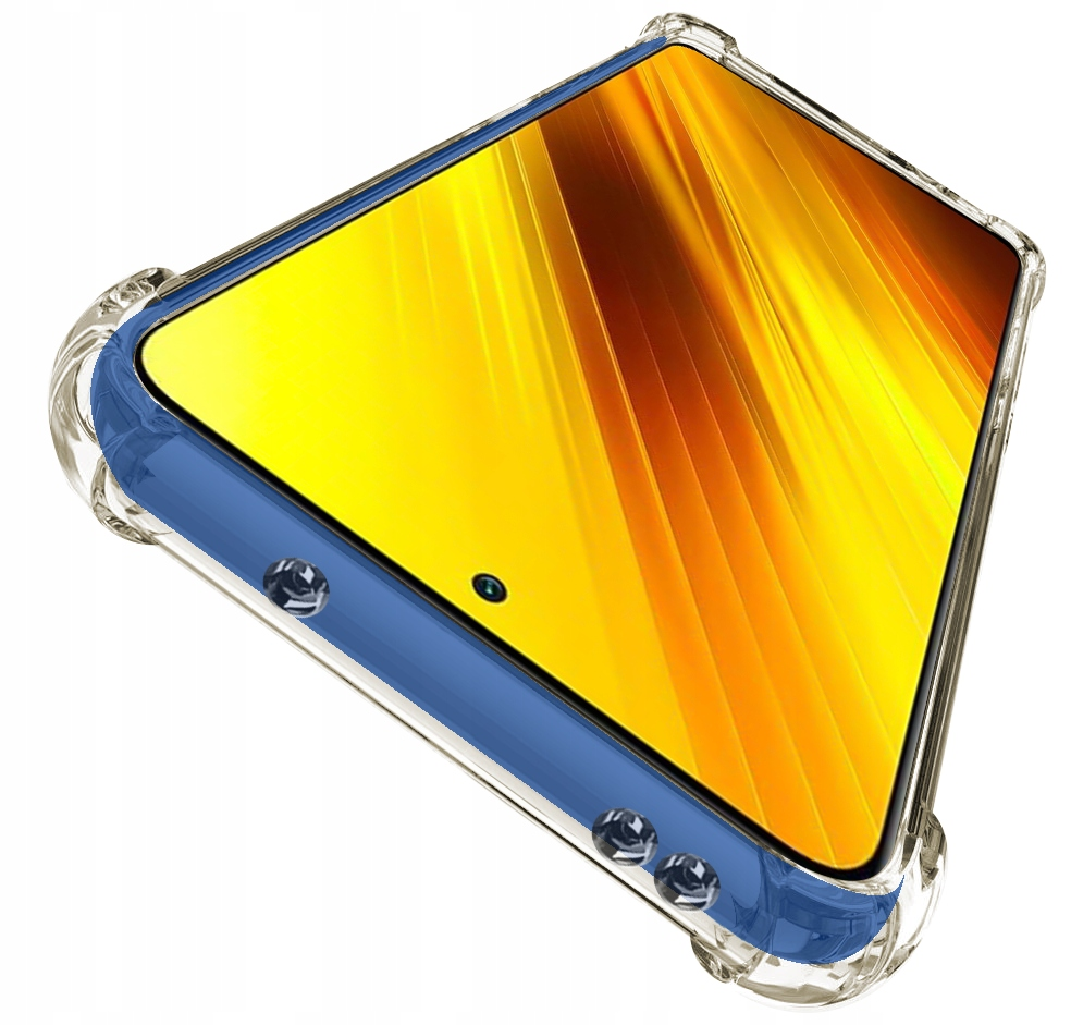 Etui do Xiaomi POCO X3 NFC ANTI-SHOCK + Szkło Dedykowany model Xiaomi POCO X3 NFC