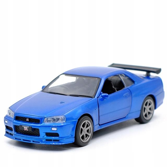 Samochod Model Nissan Skyline Gt R R34 Oconnor 9391066959 Allegro Pl